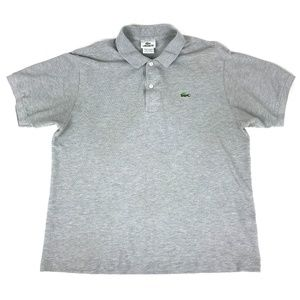 Lacoste Gray Polo Men's Size 6 Large